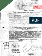 Decreto Provincial Nº 128-2005 Modificación Cantidad Horaria del Personal según categoría