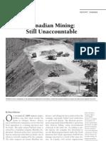 NACLA Report on Canadian Mining