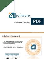 Ad Software Overview v2
