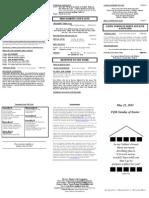 bulletin - 20110522