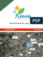 Attivita - na Taquara - Estrada do Rio Grande -Programa Minha Casa Minha Vida_ Em construção - PDG_Mandarino -Corretor exclusivo-(21) 7602-8002
