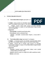 Anatomie     I II- VASCULARIZAŢIA TORACELUI
