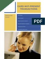Card Not Present Merchant Procedures
