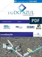 TUDO AZUL  - Irajá - Próximo ao metrô - 2 quartos - Minha Casa Minha Vida - Corretor Mandarino (21) 7602-8002