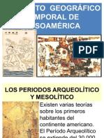 FICHA 1. CONCEPTO GEOGRÁFICO TEMPORAL DE MESOAMÉRICA