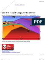 The Web is Dead. Long Live the Internet | Magazine