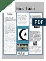 Islamic Faith 1