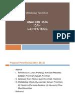 Metopen 2 - Analisa Data Dan Hipotesis 16 Mei 2011 [Compatibility Mode]