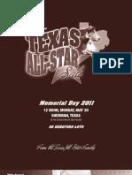 Texas All-Star Sale Catalog 2011