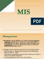 Concept of Mis
