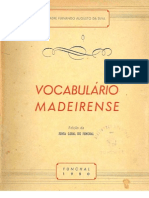 Vocabulário Popular Madeirense