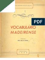 Vocabulário Popular Madeirense
