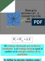 Energia Potencial y Conservacion Energia