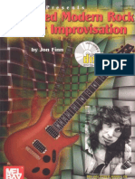 Jon Finn Advanced Modern Rock Guitar Impro