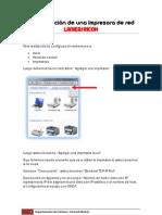 Configuración de una Impresora de red