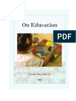 On Education 2007