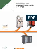 centros de transformación 36 kV