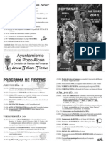 PROGRAMA FONTANAR 2011