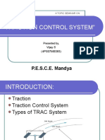 Traction Control Systems  (ppt)