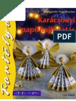Margarete Vogelbacher - Karácsonyi papírhajtogatás