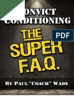 Convict Conditioning SUPER FAQ