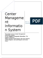 Center Management Information System