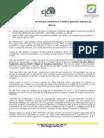 CP Ley obliga a empresas de artículos electrónicos a recibir y gestionar artículos en desuso