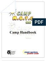 Camp MGYC Handbook