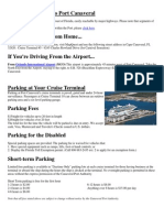 Cruise Terminal Information Port Canaveral