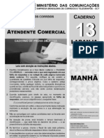 Prova Correios 2011_ Agente Dos Correios