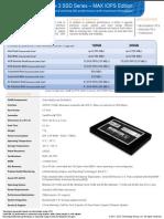 OCZ Vertex3 Max IOPS Product Sheet