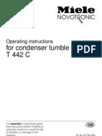 Miele Droger Novotronic T4660C en T442C