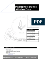 MSS Application Form