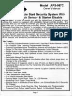 Prestige APS997C Manual de Usuario