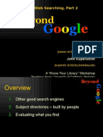 BeyondGoogle-EvaluationWeb