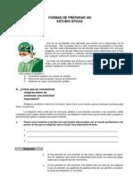 APRENDER A ESTUDIAR-PREPARACIÓN DE UN ESTUDIO EFICAZ