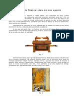 A Arca da Aliança - cópia da arca egípcia