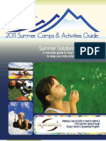 Opti-2011 Summer Camps & Activities Guide