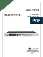 Alto MaxiDrive 2.3