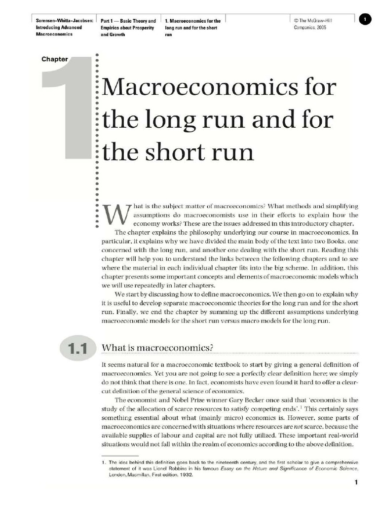 introducing advanced macroeconomics growth and business cycles introducing advanced macroeconomics growth and business cycles second macroeconomics