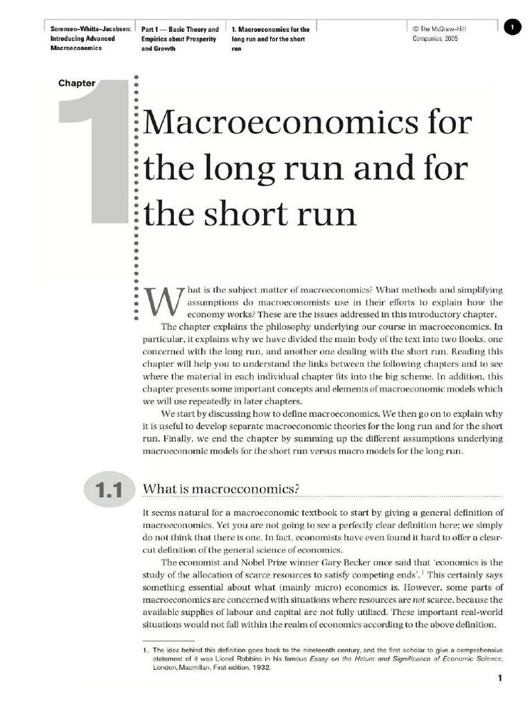 fundamentals of macroeconomics essay example View essay - paper econ372-fundamentals of macroeconomics from econ 372 at university of phoenix running head: fundamentals of macroeconomics fundamentals of macroeconomics econ372 april 2,.