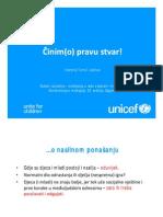 Martina Tomic Latinac (UNICEF) - Cinimo Pravu Stvar