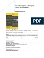 Curso Virtual de Criptografia y Stenografia