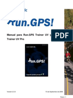 Manual Run Gps