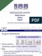Marina Brkic - Medijacijski Centri