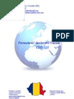 Formulare, declaratii fiscale 2011