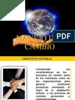 Manejo Del Cambio...