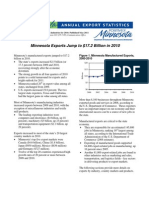 2010 Minnesota Exports Report