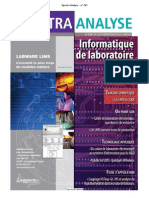 Spectra Analyse - n° 265 LIMS