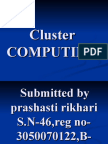 Cluster Computing